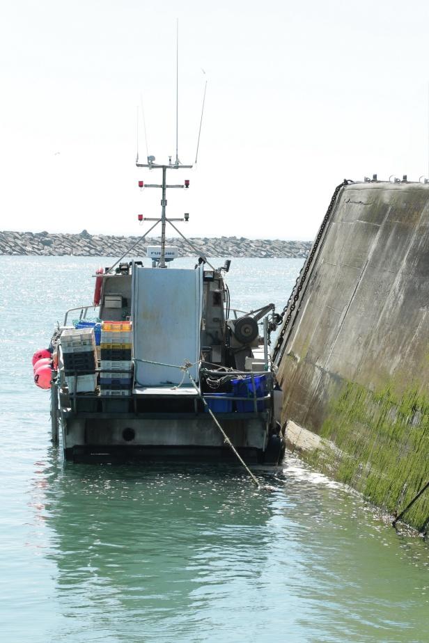 CARTERET au port 68 Balades en France - Guy Peinturier